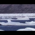 Dramatic Drift Ice situation in front of Lonyearbyen / Svalbard