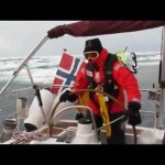 Pirko Kolditz - Decksmaster in Expedition Arctic Ocean Predator 2011 - on Night Watch at his birthday