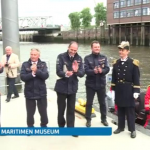 Arrival Ceremony at International Maritime Museum Hamburg